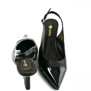 NEW YORK SLING BACK – Black<br>Integral Collection