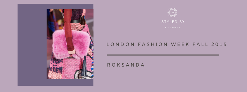 London and New York Fashion Week Fall Collection 2015