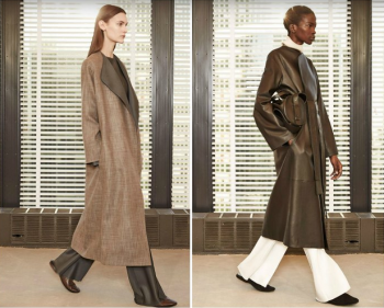 Natural hues coupled with brown tones awash subtle leather and woolen textures.e