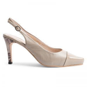 NEW YORK SLING BACK – Beige <br>Mark II Collection