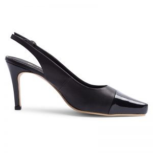 NEW YORK SLING BACK – Black <br>Mark II Collection