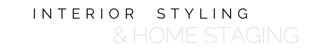 interior styling and home staging