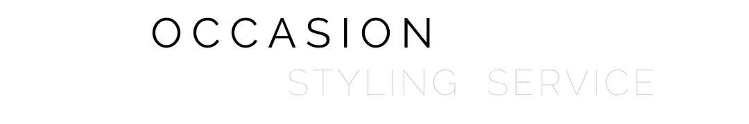 occasion styling service